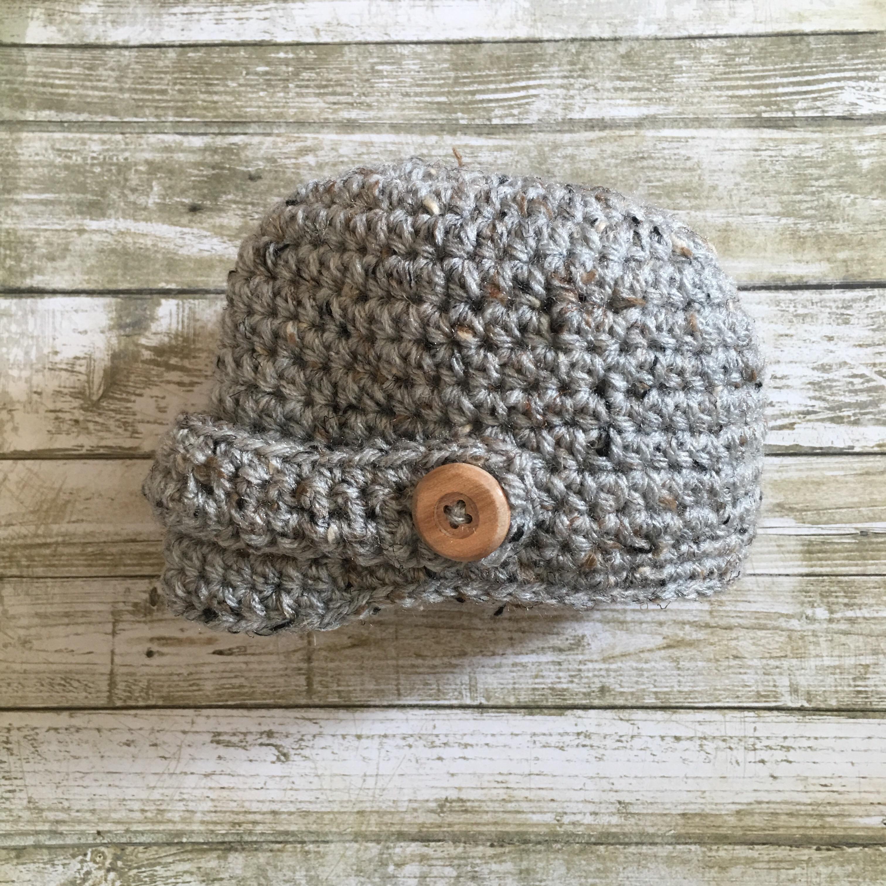 free crochet hat pattern | The Knitting Neurotic